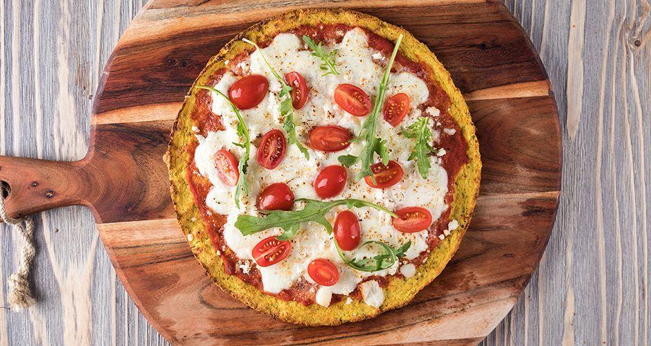 Karnabahar pizza